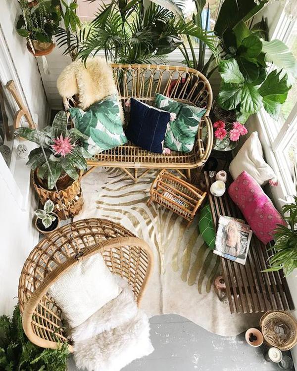 15 Most Beautiful Bohemian Balcony Ideas