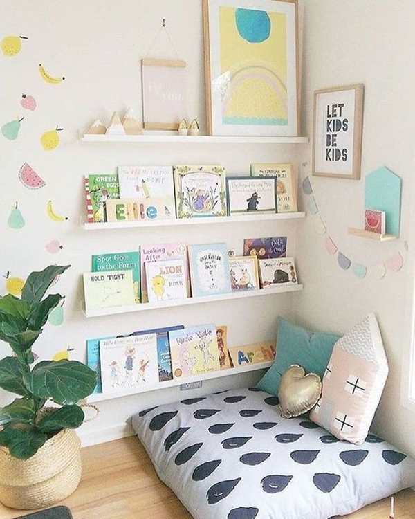 23 Super Cozy Reading Nooks for Children's