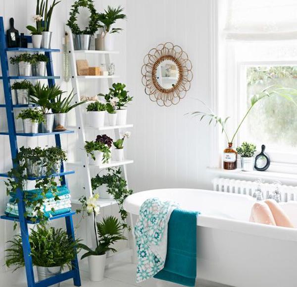 25 Simple Garden Ideas in The Bathroom