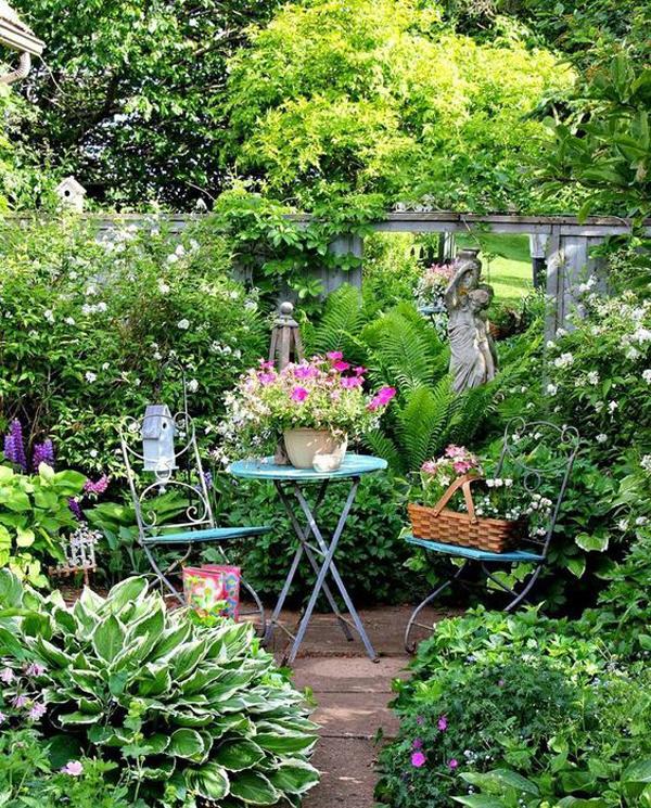 Romantic Garden Designs: 20 Most Beautiful Secret Gardens And Romantic Areas