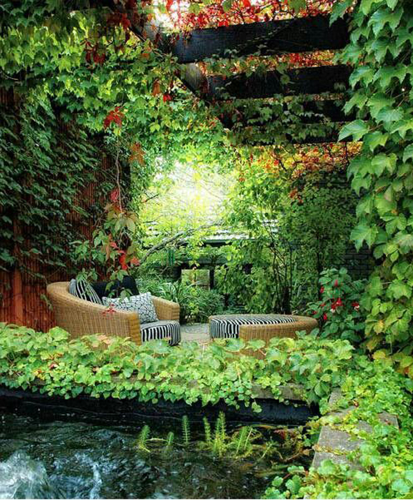 Lovely 20 Cottage Style Landscaping Ideas To Enhance Your: 20 Most Beautiful Secret Gardens And Romantic Areas