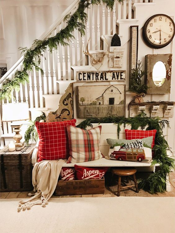 25 Family-Friendly Christmas Decor with Rustic Styles