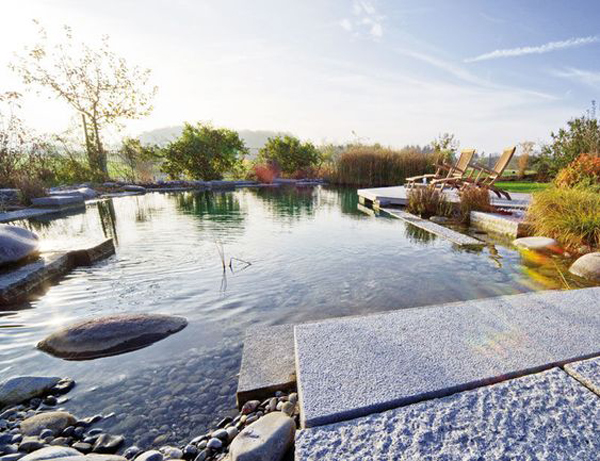 30 Natural Pond And Swimming Pool Designs For Relaxing