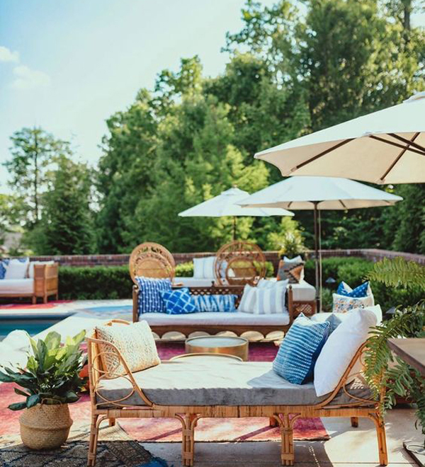 40 Astonishing Boho Pool Ideas With Exotic Decor