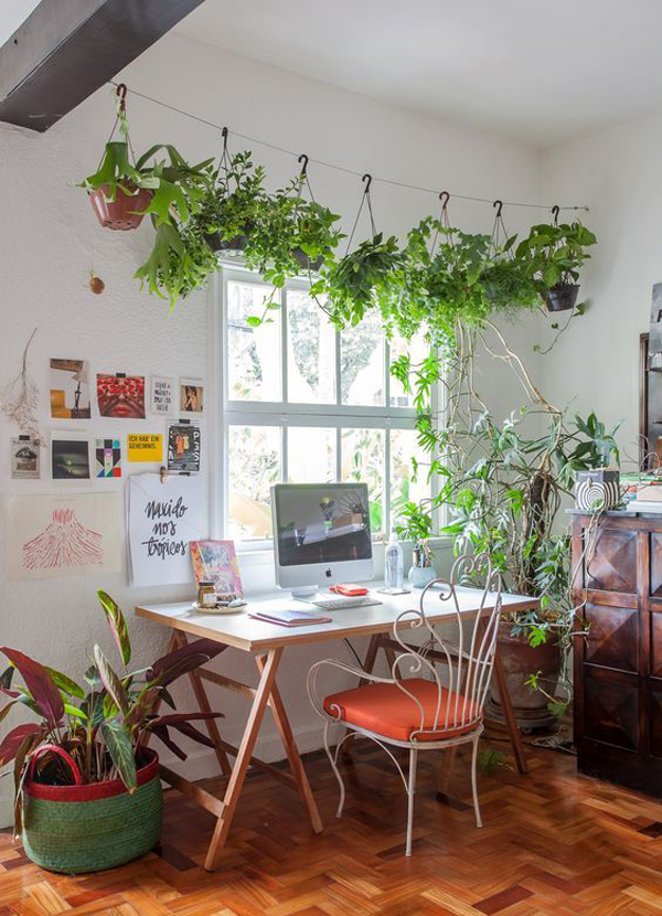 Nature Inspired Home Office Ideas