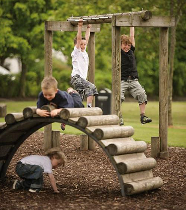 35 Outdoor Kids Playground Ideas With Nature Inspired