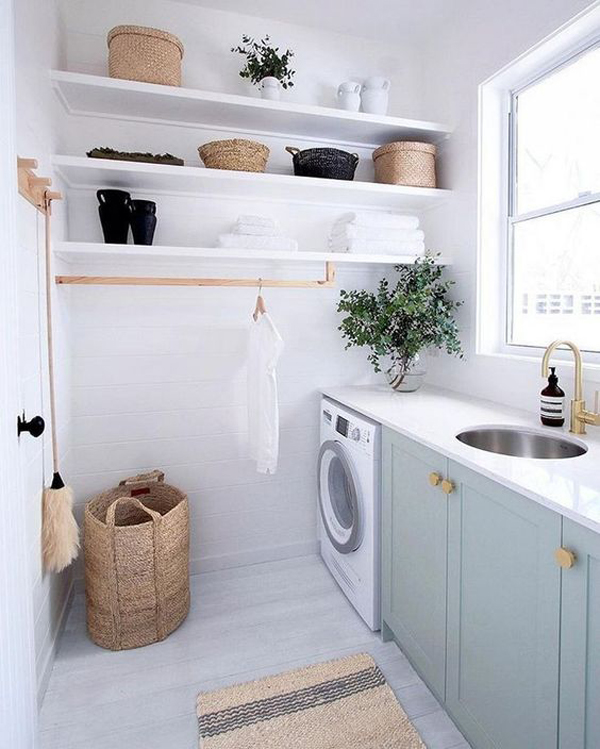 37 Smart Ways To Organized Your Laundry Room On A Budget