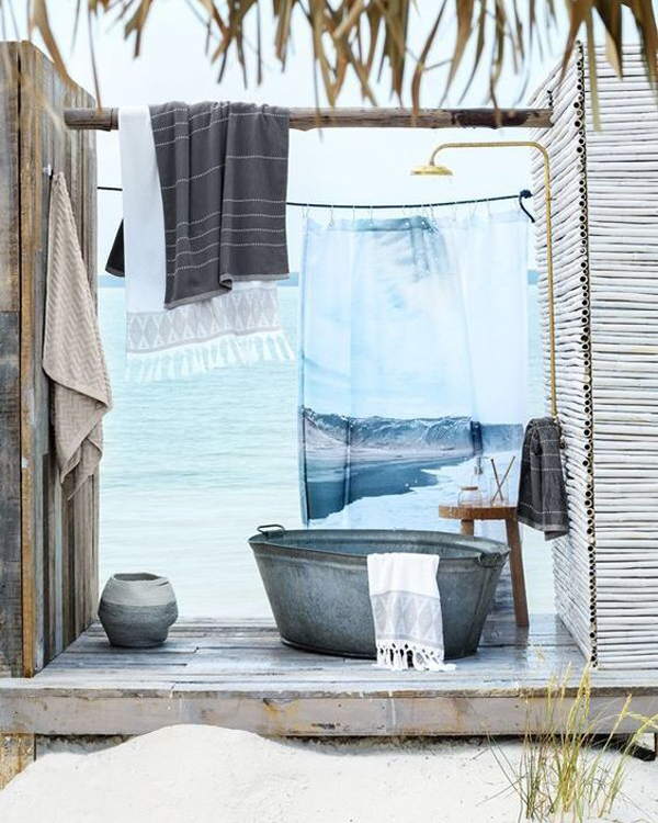 27 Outdoor Shower Design Ideas For Sweet Summer