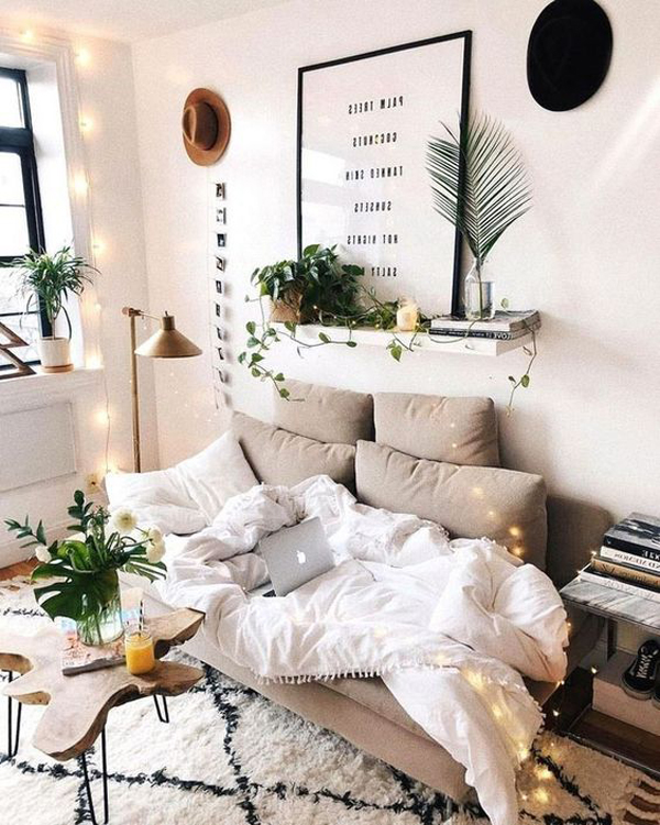 37 Cool College Apartment Decor Ideas