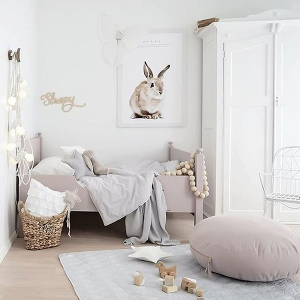 45 Inspiring Scandinavian Room Ideas For A Little Girl