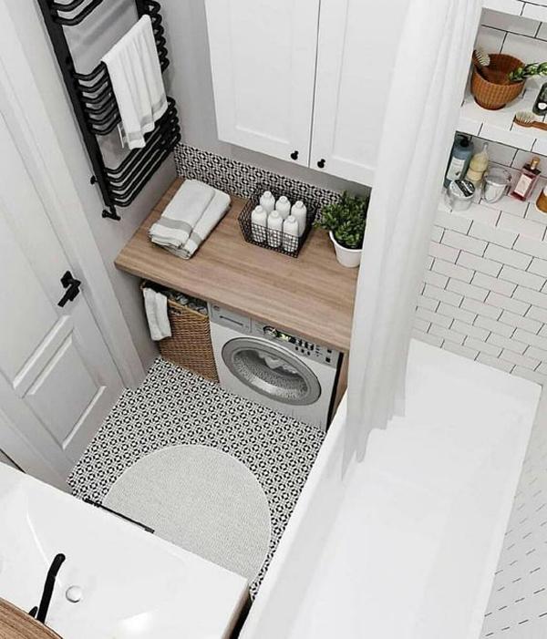 Modern Laundry Room Ideas In Bathroom