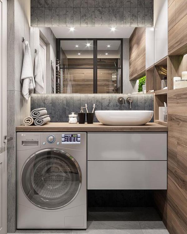 Super-stylish-laundry-bathroom-design-ideas
