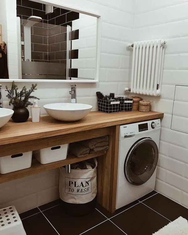 Small Bathroom Laundry Room Designs Image Of Bathroom And Closet