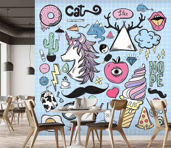 27 Awesome Bold Wall Accents With Creative Features