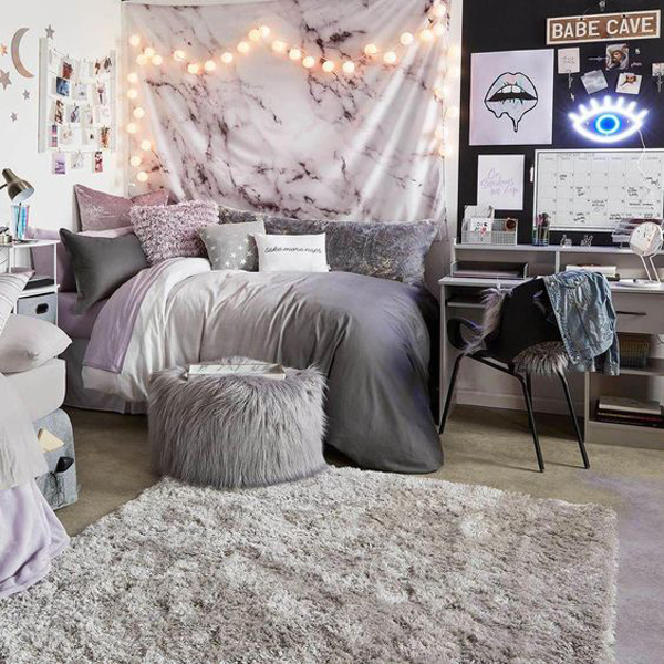 30 Modern And Gorgeous Dorm Room Ideas For Teenage Girl on Trendy Teenage Room Decor  id=23473