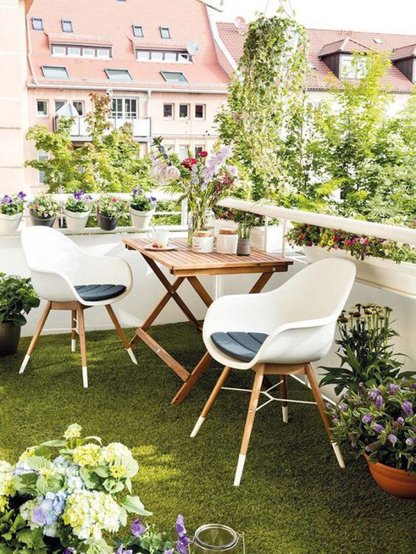 30 Small Balcony Garden Ideas For City Apartment