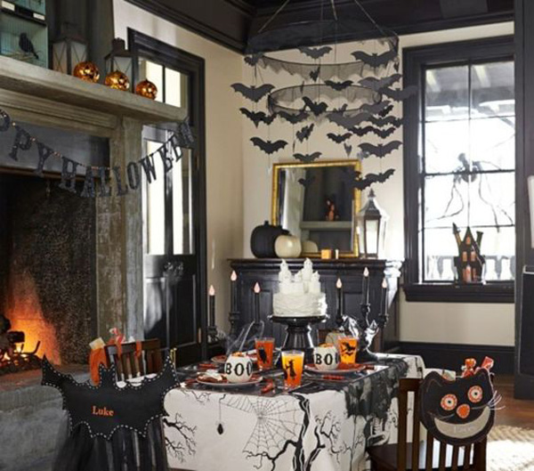 25 Classy Halloween Dining Room Ideas To Get Inspired