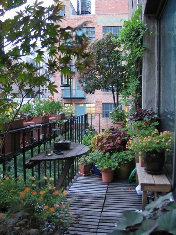 30 Small Balcony Garden Ideas For City Apartment