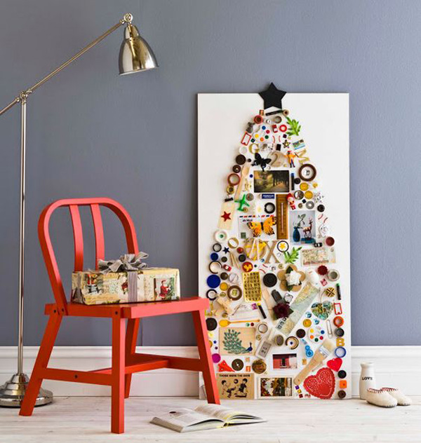 30 Very Unique DIY Christmas Tree For Small Spaces