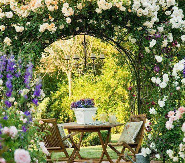 35 Beautiful Romantic Garden Ideas That Make Will Love