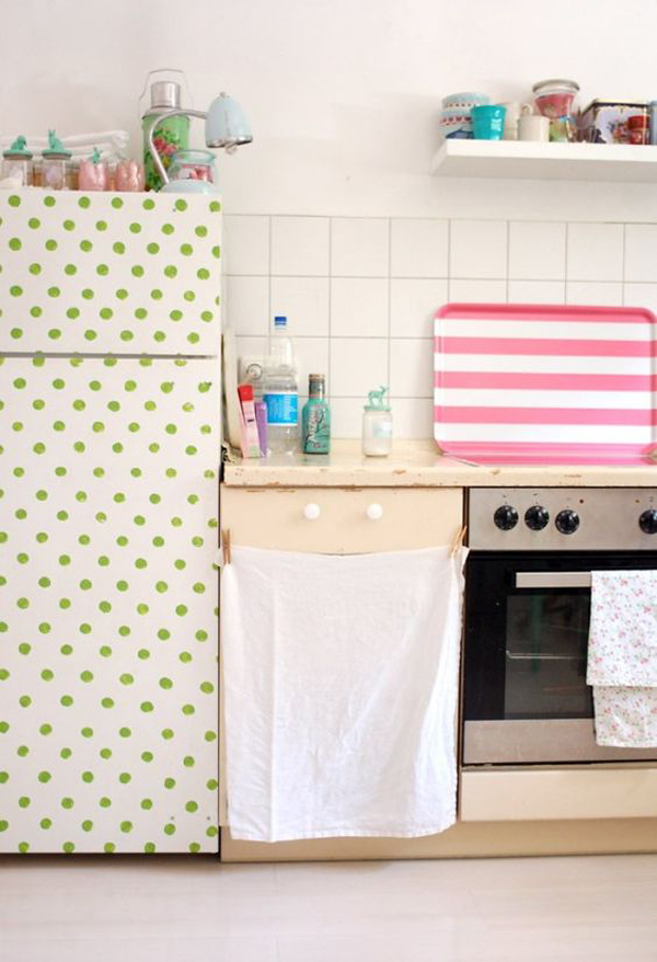 20 Cool DIY Fridge Makeover Ideas