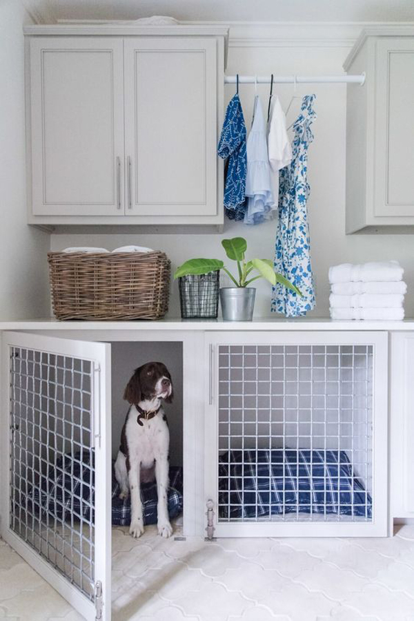 34 Fun DIY Dog Rooms For Narrow Space