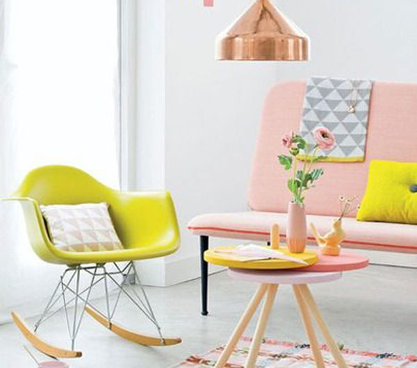 27 Cheerful Spring Room Decor With Pastel Colors
