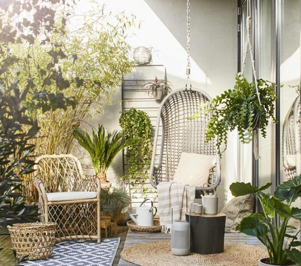 Urban Retreats: 20 Beautiful Jungle Terrace Ideas