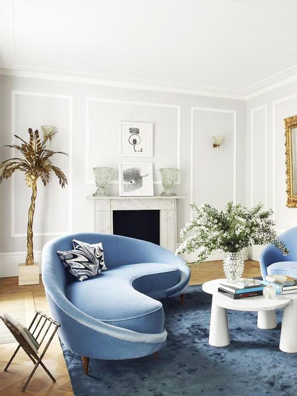 31 Popular Curvy Sofas That 70s Inspired