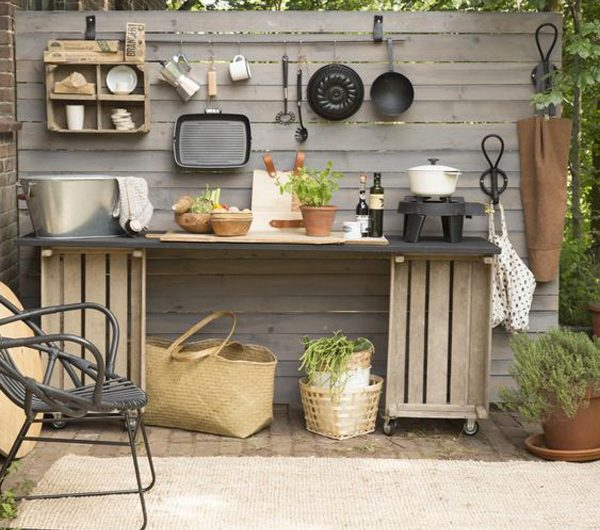30 Fresh And Fun Outdoor Kitchen Ideas For Spring