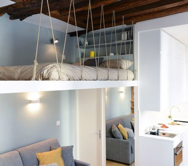 36 Fun Mezzanine Design That Should Be Tried For Small Space
