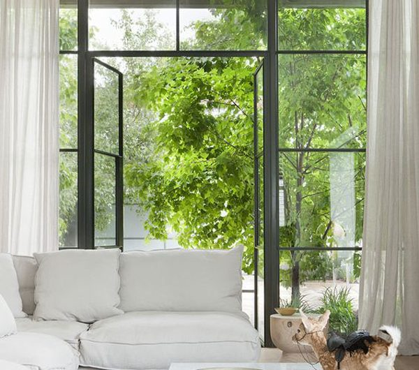 25 Amazing Living Room Design With Open Garden Views