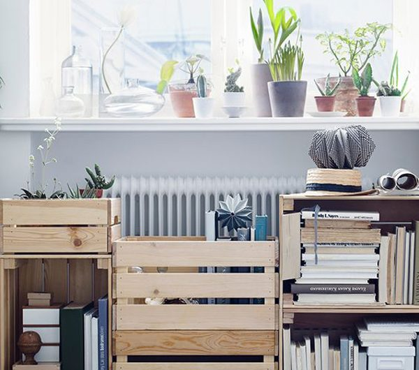 25 Beautiful Ways To Make IKEA Knagglig Boxes Into Your Storage