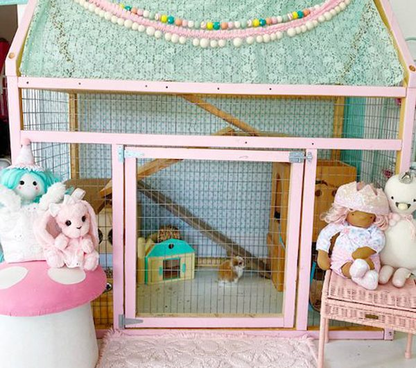 21 Most Adorable Indoor Bunny Cage Ideas