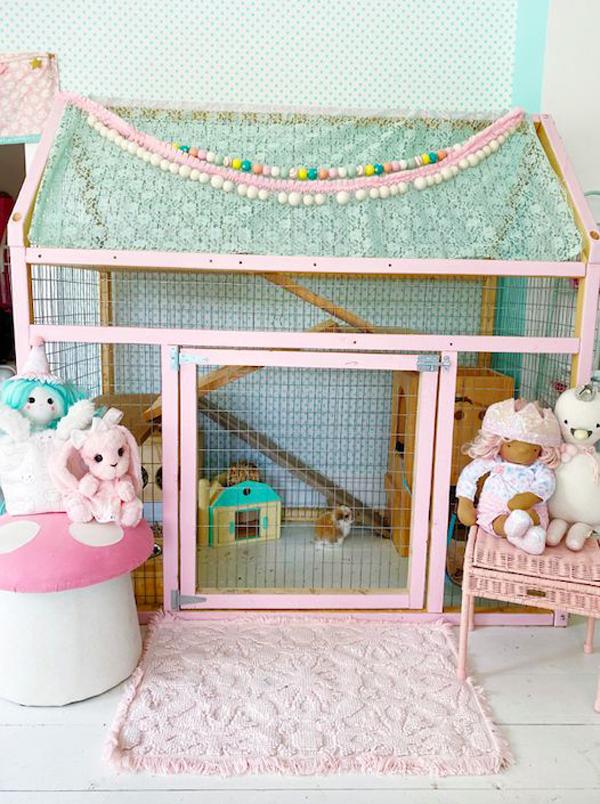 21 Most Adorable Indoor Bunny Cage Ideas