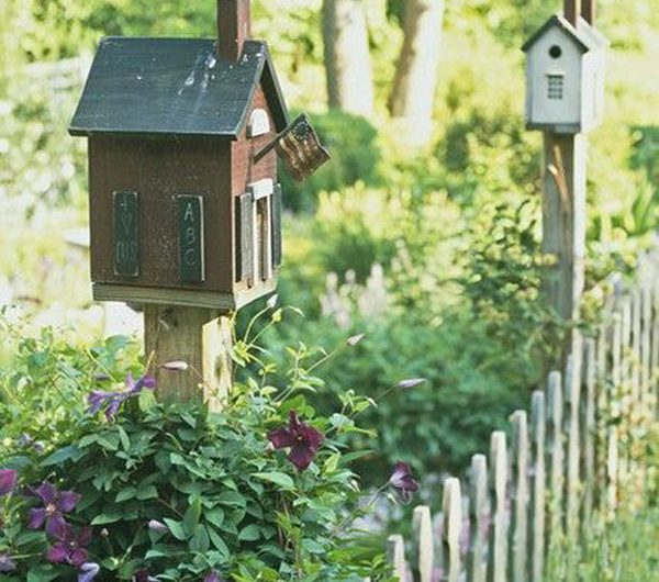 31 Easy DIY Bird Houses To Beautify Your Garden