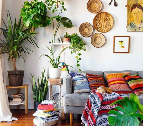 30 Unique Bohemian Living Room For An Unexpected Decor