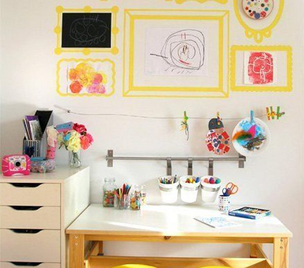 The Creative Ways To Make Art And Craft Space For Kids