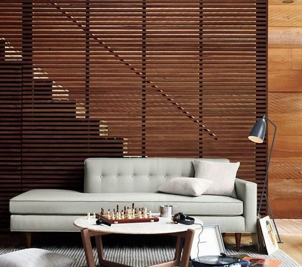 20 Stylish And Modern Wood Partition For Any Room