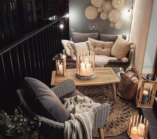 25 Bohemian Balcony Ideas With Romantic Feel