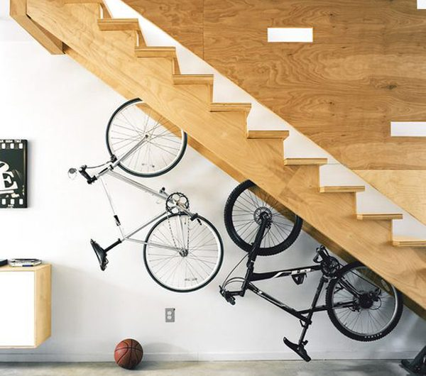 11 Creative Ways To Store Bikes In Your Home