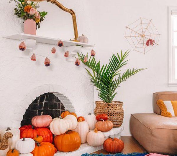 30 Haunted Bohemian Halloween Decor Ideas