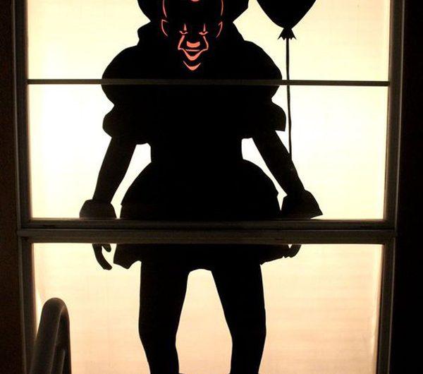 20 DIY Halloween Window Silhouettes Will Creepy Of Night