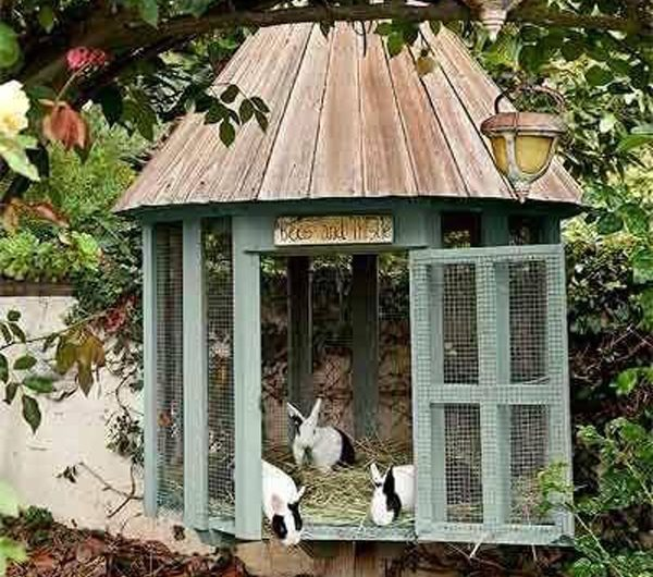 25 Awesome Outdoor Bunny Cage Ideas