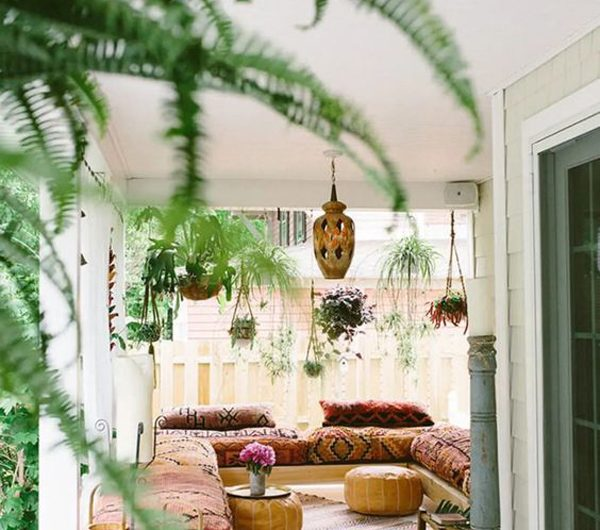 30+ Trendy Bohemian Style Patios For Winter Transition