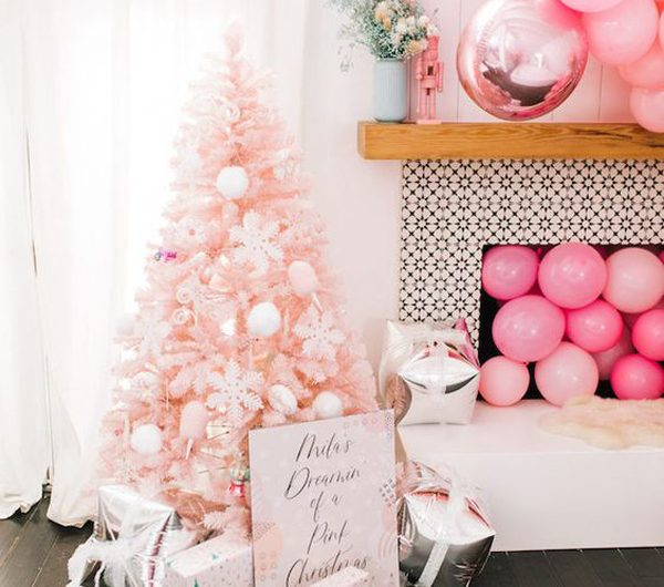 30 Cute Pink Christmas Tree Decor Ideas