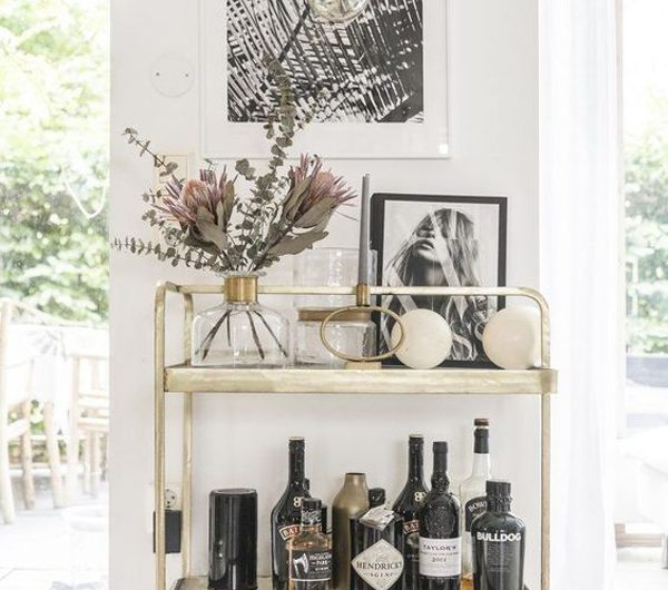 25 Stylish Bar Carts To Improve Your Decor