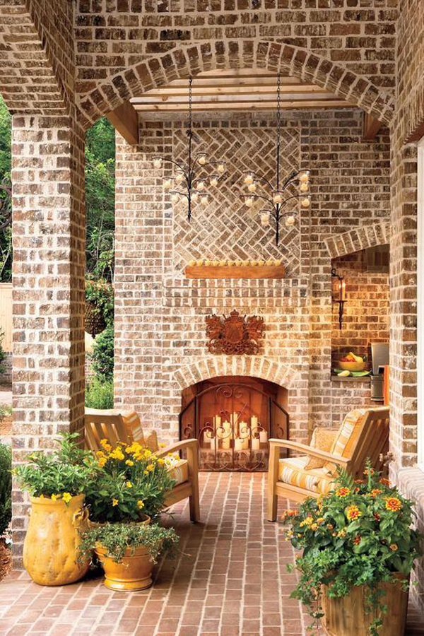 best-romantic-fireplace-with-candles