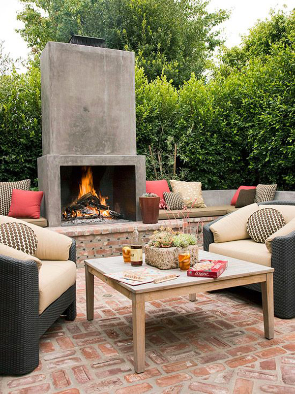 cozy-outdoor-living-space-with-fireplace-ideas