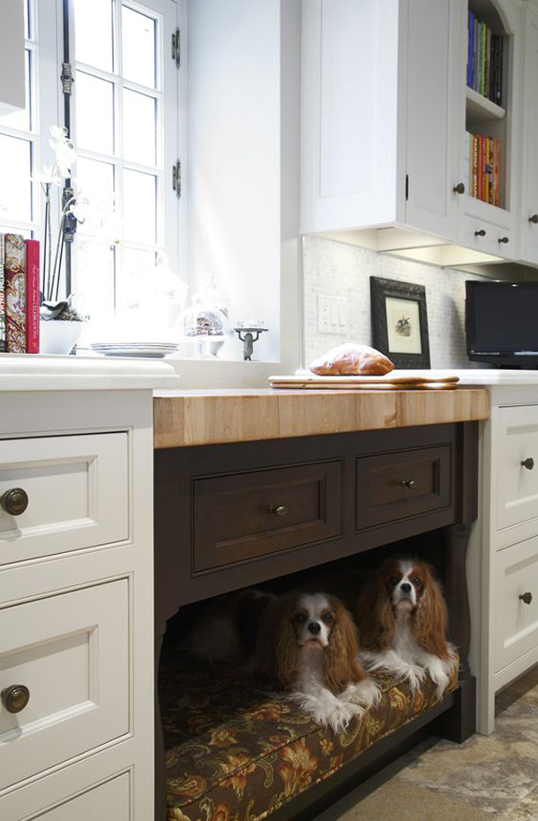 custom-kitchen-with-dog-bed-space